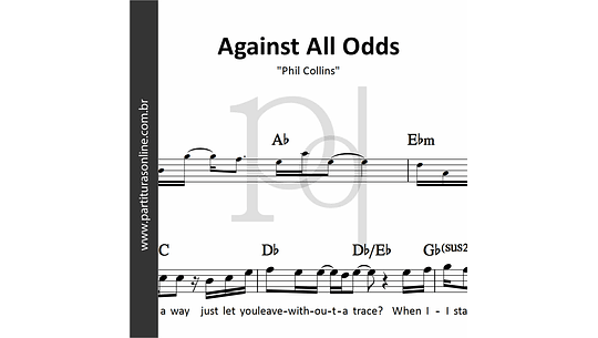 Against All Odds | Phil Collins