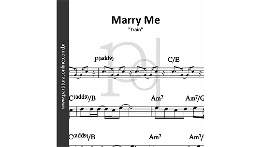 Marry Me | Train
