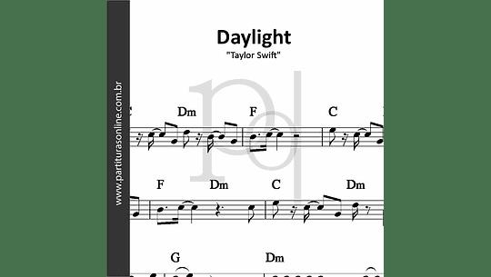 Daylight | Taylor Swift