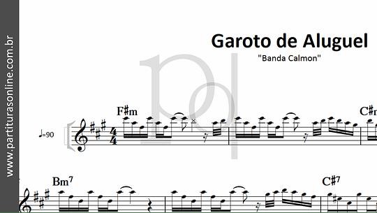 Garoto de Aluguel | Banda Calmon
