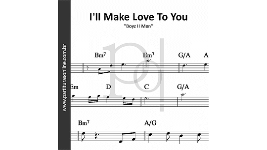 I'll Make Love To You | Boyz II Men