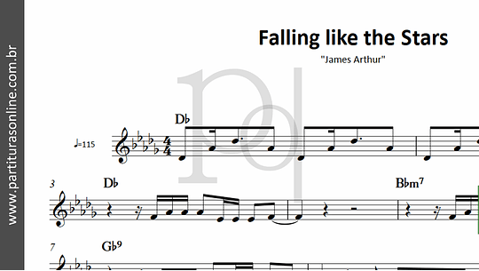 Falling like the Stars | James Arthur