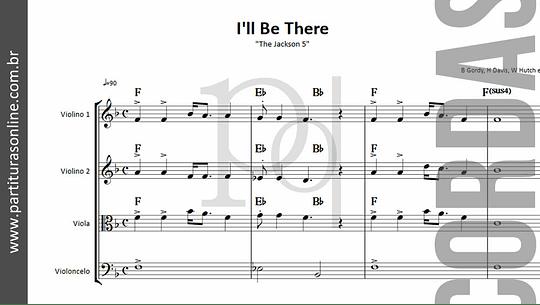 I'll Be There | Quarteto de Cordas