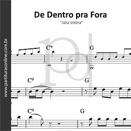 De Dentro pra Fora | Júlia Vitória
