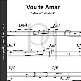 Vou te Amar | Márcio Todeschini
