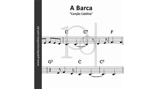 A Barca | Canção Católica