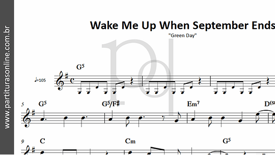 Wake Me Up When September Ends | Green Day