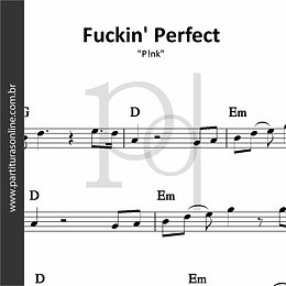 Fuckin' Perfect | P!nk