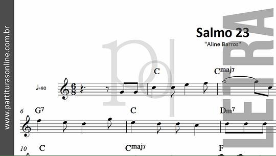 Salmo 23 | Aline Barros