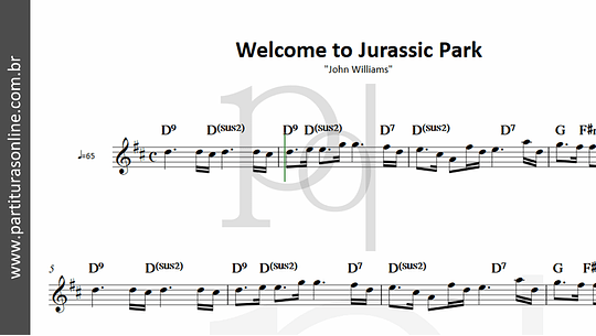 Welcome to Jurassic Park |  (trecho)