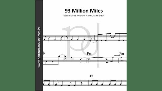 93 Million Miles | Jason Mraz