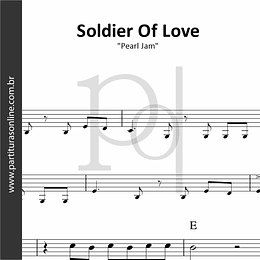 Soldier Of Love | Pearl Jam
