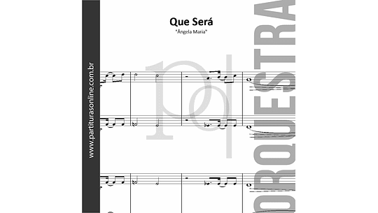 Que Será? | Ângela Maria - Orquestra