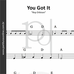 You Got It | Roy Orbison
