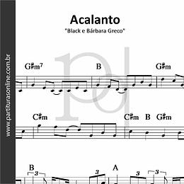 Acalanto | Black e Bárbara Greco
