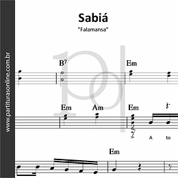 Sabiá | Falamansa