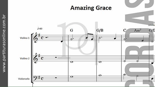 Amazing Grace | Trio de Cordas