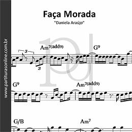 Faça Morada | Daniela Araújo