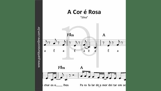 A Cor é Rosa | Silva