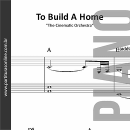 To Build A Home | para Piano