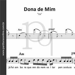 Dona de Mim | Iza