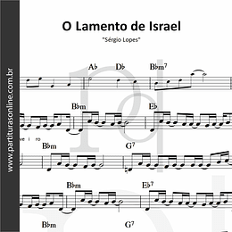 O Lamento de Israel | Sérgio Lopes