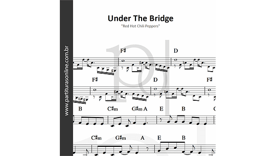 Under The Bridge | Red Hot Chili Peppers