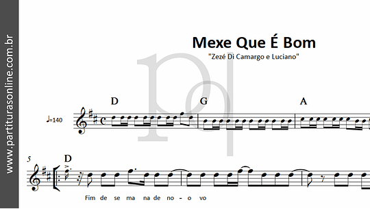 Mexe Que É Bom | Zezé Di Camargo e Luciano