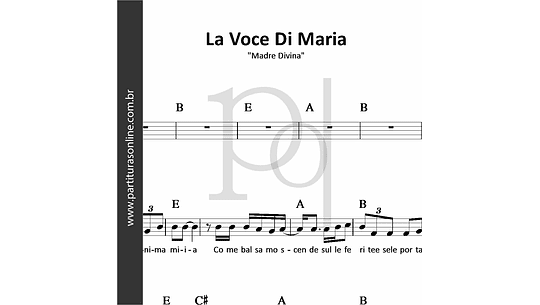 La Voce Di Maria | Madre Divina