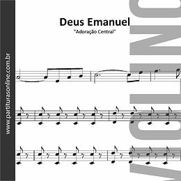 Deus Emanuel | arranjo para Violino