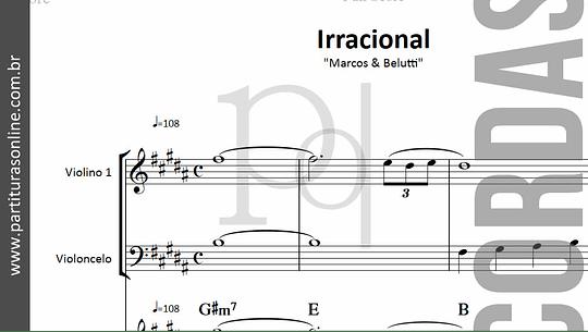 Irracional | arranjo para Violino e Violoncelo