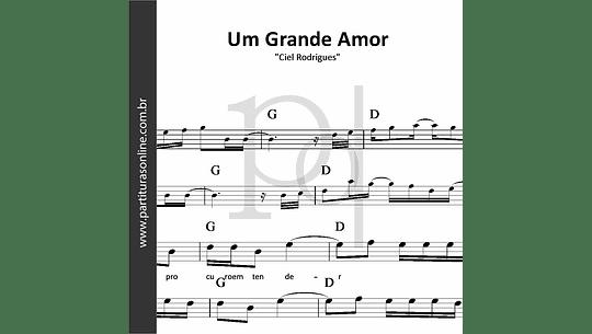 Um Grande Amor | Ciel Rodrigues