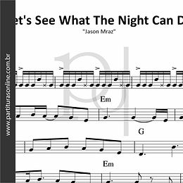 Let's See What The Night Can Do | Jason Mraz