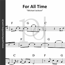 For All Time | Michael Jackson