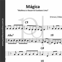 Mágica | Matheus e Kauan & Gusttavo Lima