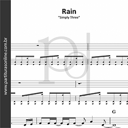 Rain | Simply Three