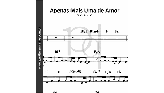 Apenas Mais Uma de Amor | Lulu Santos