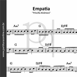 Empatia | Priscilla Alcântara