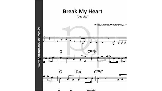 Break My Heart | Dua Lipa