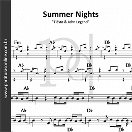 Summer Nights | Tiësto & John Legend