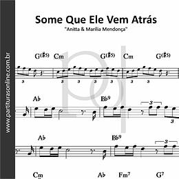Some Que Ele Vem Atrás | Anitta & Marília Mendonça