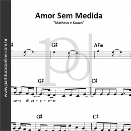 Amor Sem Medida | Matheus e Kauan