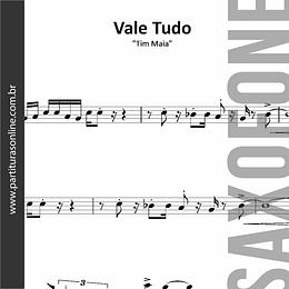 Vale Tudo | Metais para Saxofone Tenor