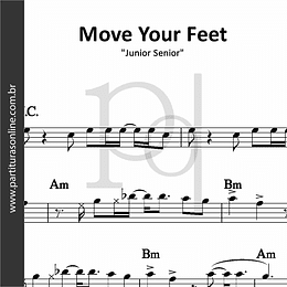 Move Your Feet | Junior Senior