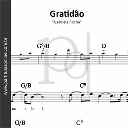 Gratidão | Gabriela Rocha