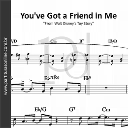 "You've Got a Friend in Me | ""From Walt Disney's Toy Story"""