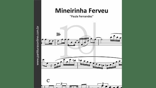 Mineirinha Ferveu | Paula Fernandes