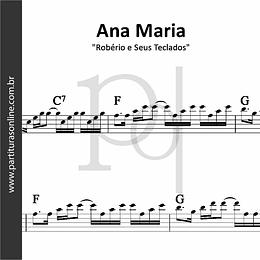 Ana Maria | Robério e Seus Teclados