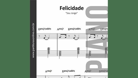 Felicidade | para Piano
