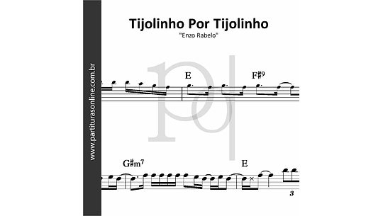 Tijolinho Por Tijolinho   Enzo Rabelo